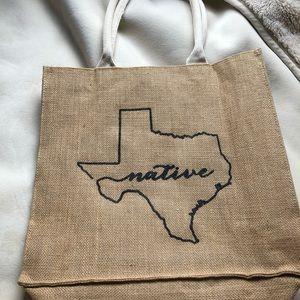 Handbags - Texas Shopping Tote